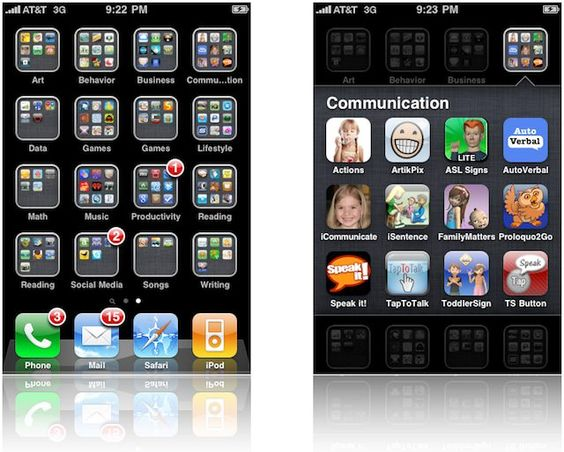 Folders  The Evolution of iOS: Looking Back at iOS Through the Years [Gallery]