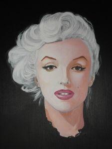 Marilyn Acrilico 60x60 Sep 2014