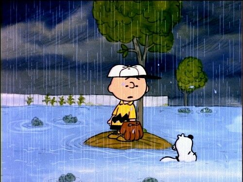 Snoopy and Charlie Brown: