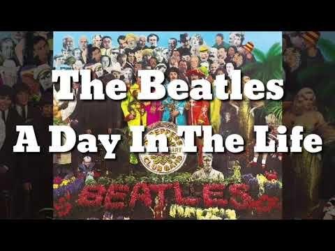 The Beatles A Day In The Life Subtitulada En Español Y Ingles Youtube Musica En Ingles Feliz Cumpleaños Gatos Beatles