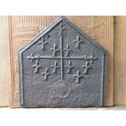 Kaminplatte Gotische Wappen zum Verkauf von https://www.kaminplatte.de