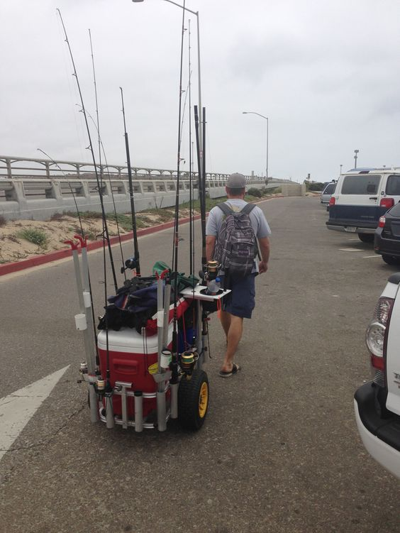 Surf fishing gear never be out gunned socalsurfrats for Surf fishing gear