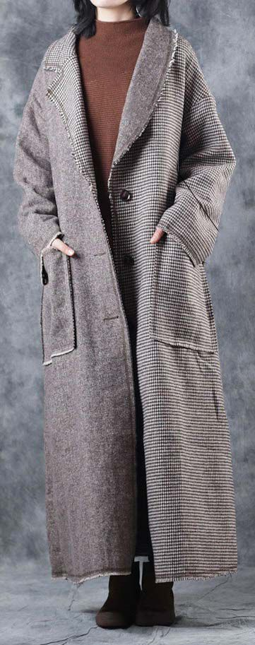 top-quality-Plaid-coats-casual-Turn-down-Collar-long-coat-New-tie-waist-pockets-trench-coat1