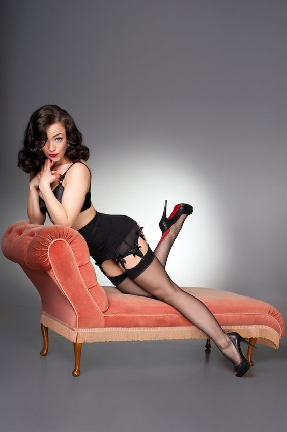 Modern pinup with classic style
