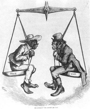political cartoons 1800 | The Stereotyping of the Irish Immigrant in 19th Century Periodicals