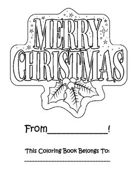 I created this Christmas activity book to give to my kinders as a gift before winter break (along with a small box of crayons). There are 32 pages ...