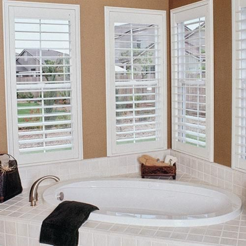 Shutters are a safer choice for homes with kids or pets. Plus they're a top choice for privacy and insulation.