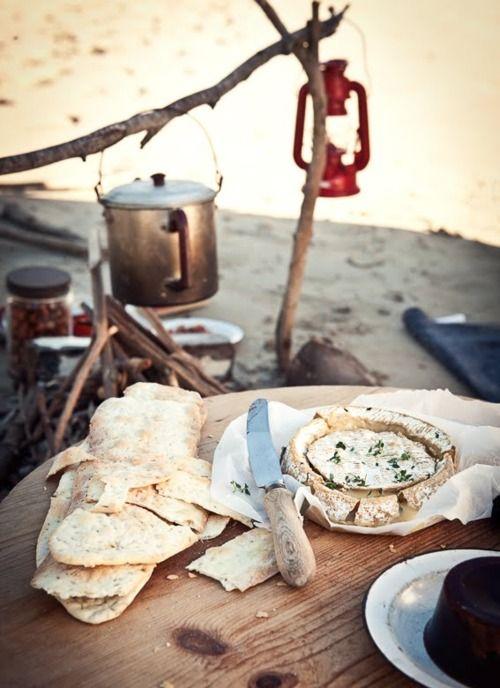 beach cooking