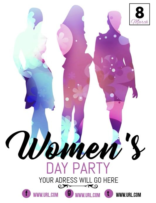 Halloween 2020 Poster Custom women's day flyers,event flyers,8th march in 2020 | Event flyers