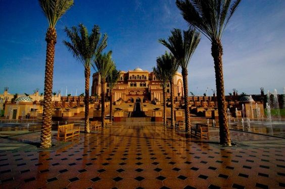 Emirates Palace da famosa rede Kempinski de hotéis.