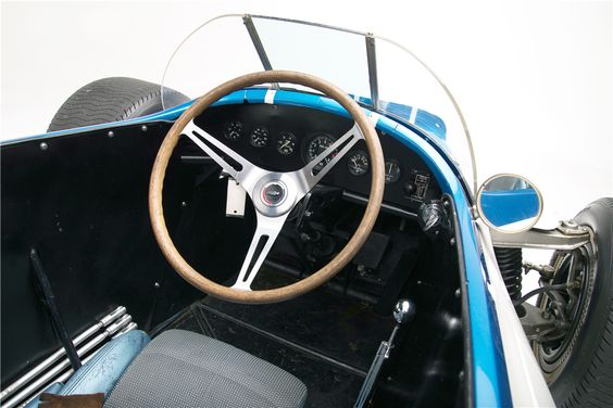 1960 CHEVROLET ENGINEERING RESEARCH VEHICLE (CERV) 1 - Interior. Photo Courtesy Barrett-Jackson