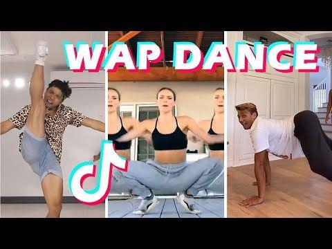 Wap Dance Tiktok Challenge Compilation Cardi B Wap Feat Megan Thee Stallion Youtube Cardi B Challenges Dance