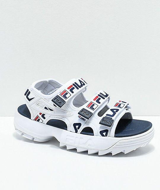 fila sandals journeys