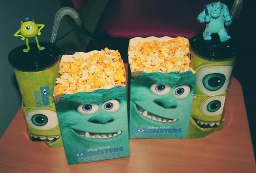Monsters Inc Popcorn