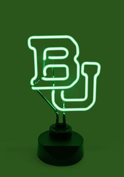 I need this for my desk! Sic 'Em Bears! // #Baylor BU Neon Sign