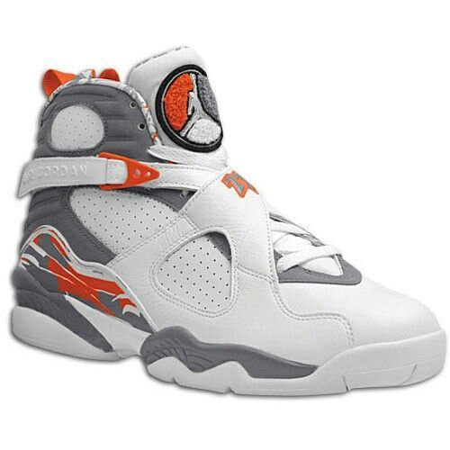 Air Jordan (Retro) 8s Orange Blaze | Nike free shoes, Nike shoes ...