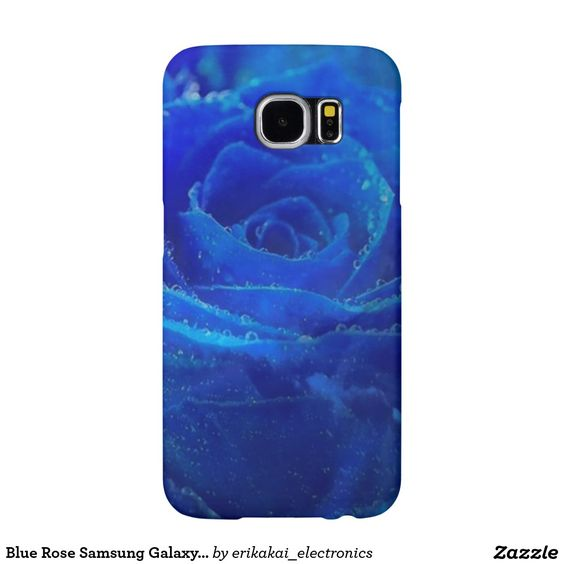 Blue Rose Samsung Galaxy S6 Case, Barely There