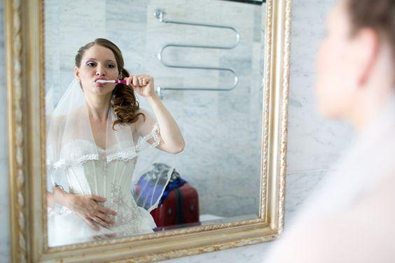 Hochzeitsfotos Brautstyling-Brautmakeup
