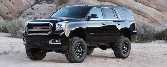 """Sick looking New Body Yukon ~  I might  have found my next ride / Fabtech 6""""  Basic System - 2015 GM C/K1500 SUV 2WD/4WD"""
