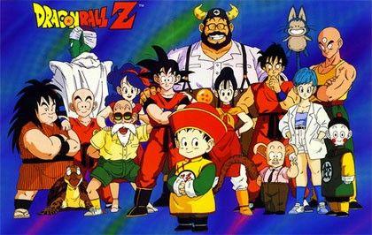 Dbz inicio poster 80's