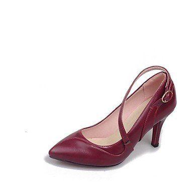 Dew Stiletto - Kunstleder - FRAUEN Absätze/Spitze Zehe - Pumps / High Heels ( Schwarz/Rosa/Rot/Marinenblau ) - http://on-line-kaufen.de/dew-hohe-fersen/dew-stiletto-kunstleder-frauen-absaetze-spitze-6