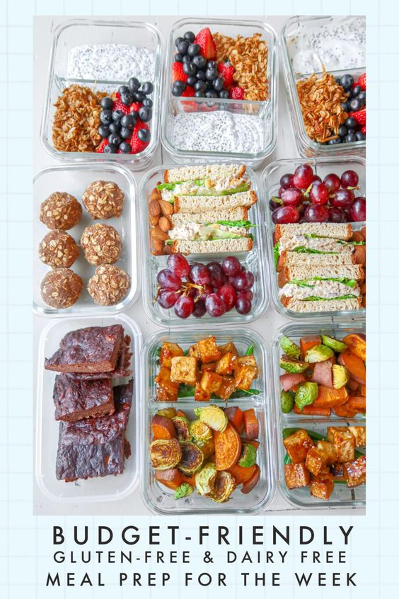 Budget-Friendly Meal Prep Guide: Gluten-Free, Dairy-Free, Berry Parfaits, Tuna & Chickpea Sandwiches & Sesame Tofu Pad Thai! - Simply Taralynn