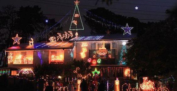 Decoración de navidad para el exterior de la casa: iluminación, árbol, adornos y tendencias 2013 2014