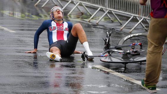 Die amerikanische Radrennfahrerin Kristin Armstrong. © dpa Fotograf: Javier Etxezarreta