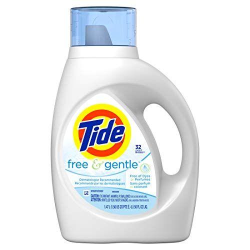 Tide Free Gentle Liquid Laundry Detergent Unscented 1 Https Www Amazon Com Dp B00199ihp6 Tide Free And Gentle Liquid Laundry Detergent Tide Detergent