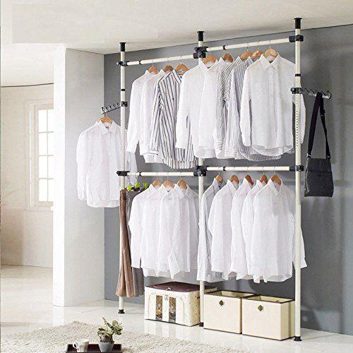 Organiza un vestidor a tu medida! | Bastidores para ropa