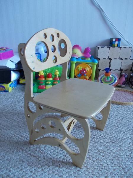 Детский стульчик своими руками + чертежи