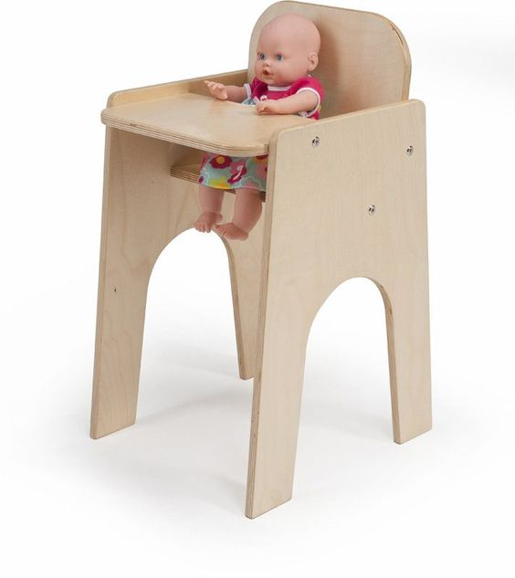 Whitney Brothers Doll High Chair WB1229