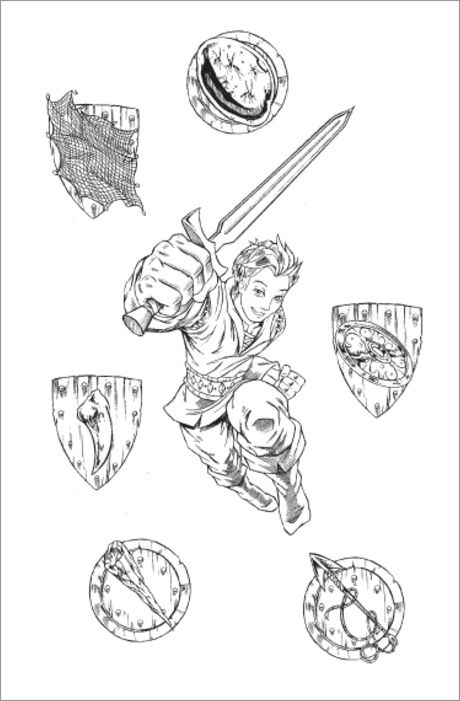 Tom and shield beastquest beast quest birthday for Beast quest coloring pages