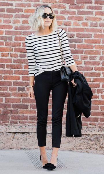 Moda it - Look French Icon: Blusa Listrada   Moda it