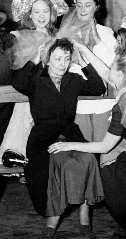 "1951 ""La P'tite Lili Ketty Albertini avec, entre autres, Edith Piaf - Théâtre de l'ABC"""