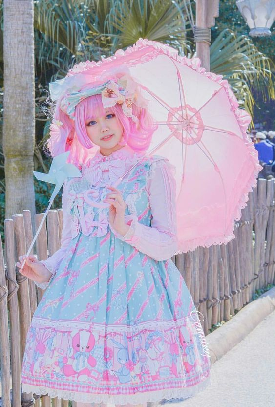 Usami-san fairy kei outfit @canniny on instagram