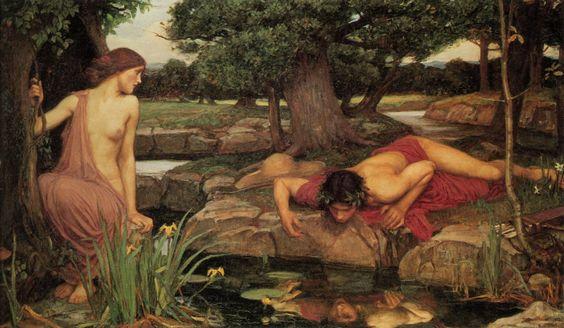 NARCISO Y ECO Un mito griego que nos habla de las terribles consecuencias de ser vanidoso