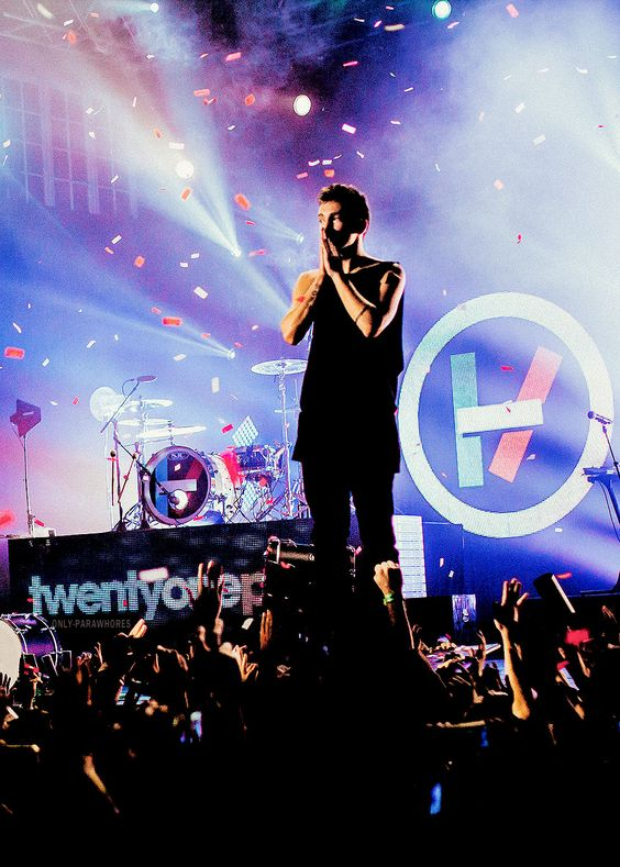 tyler joseph - band member that I would love to see live but know I will never.