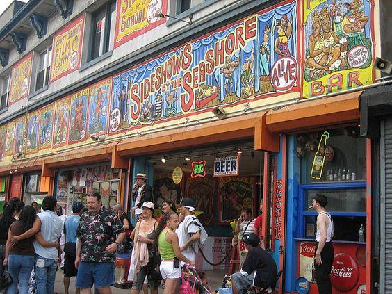 coney island freak show by icyFrance, via Flickr