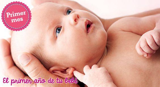 Primer mes: Cómo sujetar al bebé
