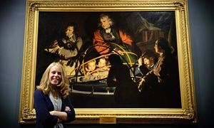 Via The Guardian: From Tudor piss-pots to Botticellian nymphs, four curators reveal their favourite objects and what their job really entails. (image: Lucy Bamford in front of Joseph Wright of Derby's A Philosopher Lecturing on the Orrery).