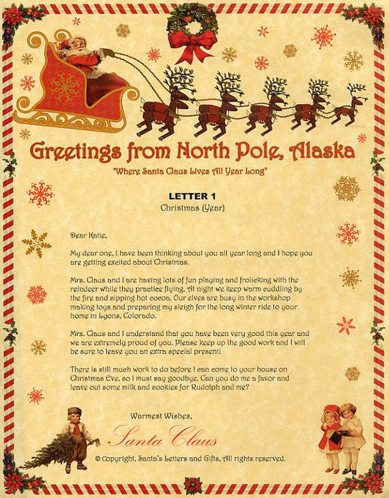 Send Letter To Santa And Get Response