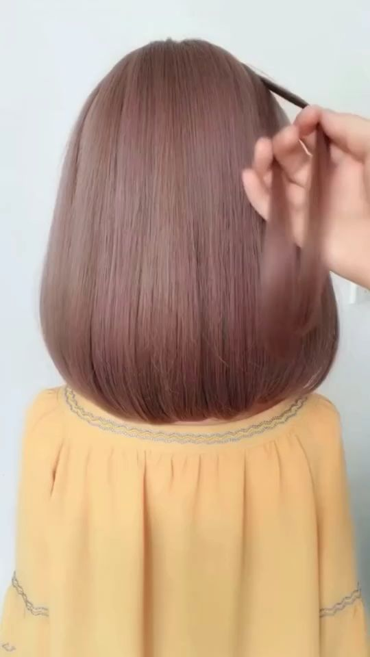 Hairstyle Videos For Short Hair Easy In 2020 Long Hair Video Long Hair Styles Hair Styles