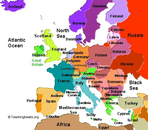 List of Synonyms and Antonyms of the Word: modern europe