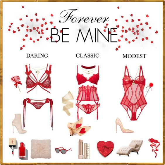 Forever Be Mine by aibp on Polyvore featuring L'Agent By Agent Provocateur, Wolford, Luichiny, Dsquared2, Christian Louboutin, Charlotte Russe, Michael Kors, M&Co and Abbyson Living