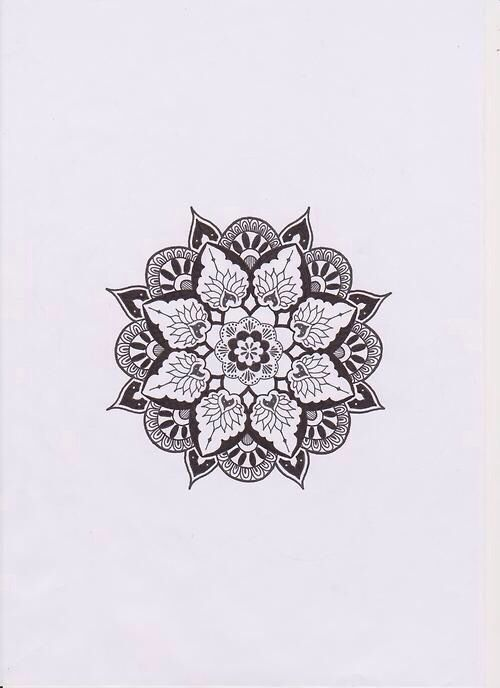 love this mandala � psych pinterest mandala art