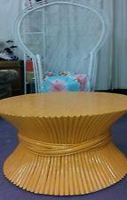 vintage Mid Century Modern. 60s Mcguire  furniture style Rattan...