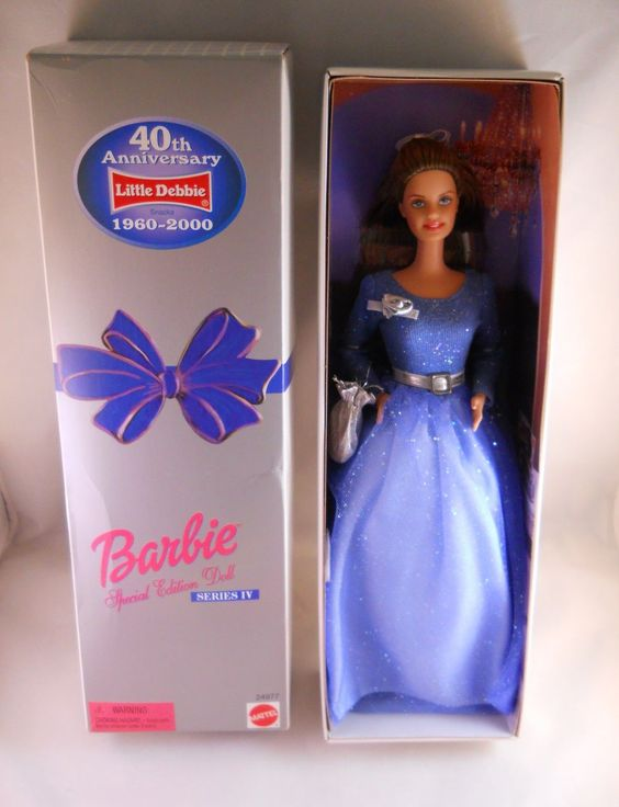 Little Debbie 40th Anniversary Barbie Special Edition Series IV Doll by Mattel, 1999