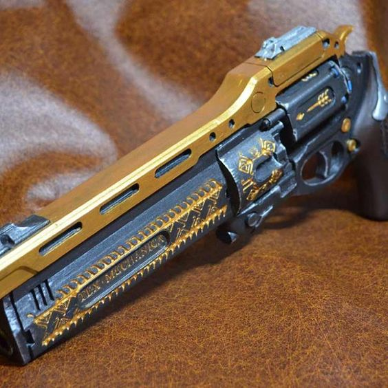 Destiny Last Word Exotic Hand Cannon. Design by Lael Lee.