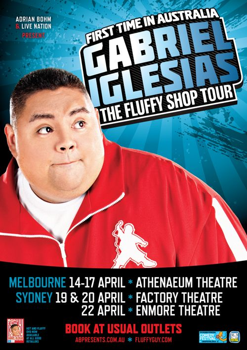 Gabriel Iglesias - 'Fluffy shop tour'  First time in Australia    #standupcomedian